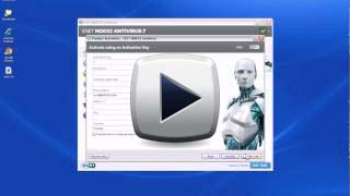 ESET NOD32 Activation Video