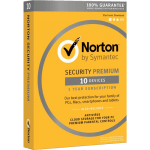 Norton Security Premium (1 Year / 10 Devices) [Download]