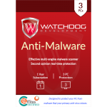 Watchdog Anti-Malware (1 Year / 3 PC) [Download]