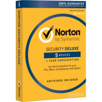 Norton Security Deluxe (1 Year / 5 Devices) [Download]