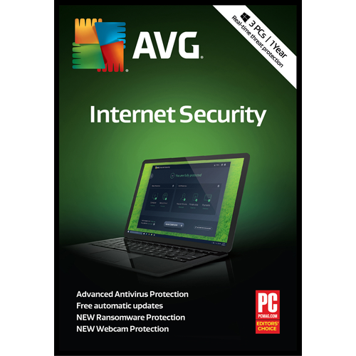 AVG Internet Security (1 Year / 3 PC) [Download]