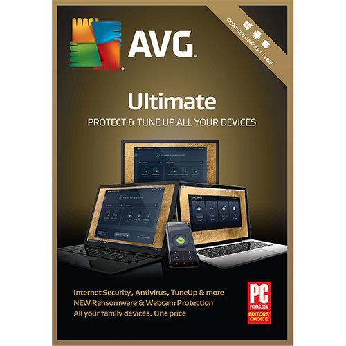 AVG Ultimate (1 Year / Unlimited) [Download]