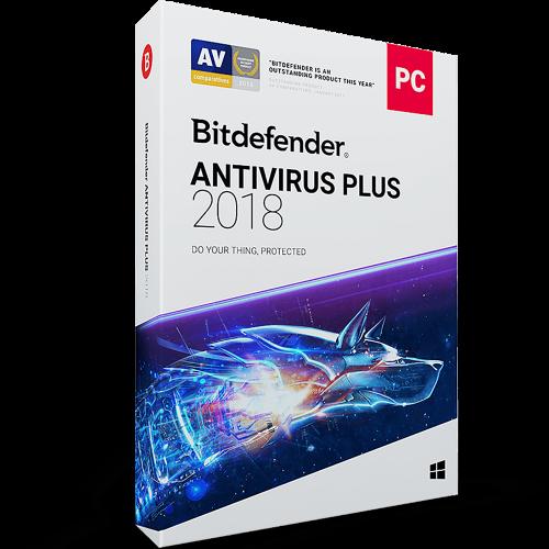 Bitdefender Antivirus Plus (1 Year / 1 PC) [Download]