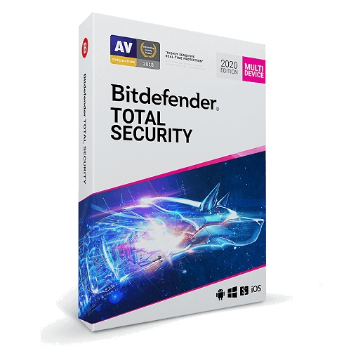 Bitdefender Total Security (1 Year / 5 Devices) [Download]