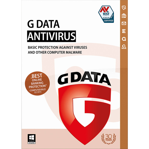 G Data Antivirus (1 Year / 1 PC) [Download]