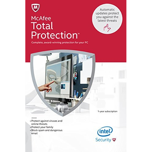 McAfee Total Protection (1 Year, 1 PC) [Download]